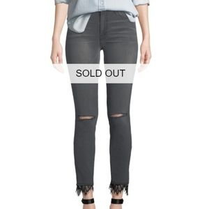 NWT MOTHER High Waist Ankle Skinny Jeans Size 29